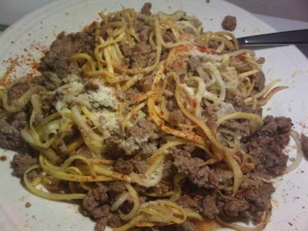 Low Carb Paleo Spaghetti is Diabetes Friendly