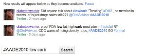 AADE & Low Carb