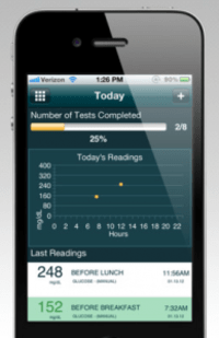 App Allows Patients to Wirelessly Track Blood Glucose Meter Readings
