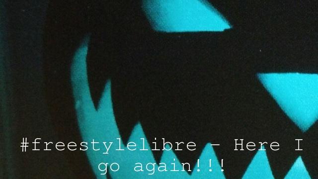 #freestylelibre – Here I go again!!!