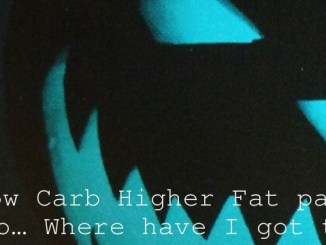 Low Carb Higher Fat part two… Where have I got to?