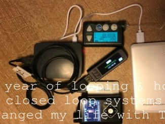 A year of looping & how closed loop systems changed my life with T1D