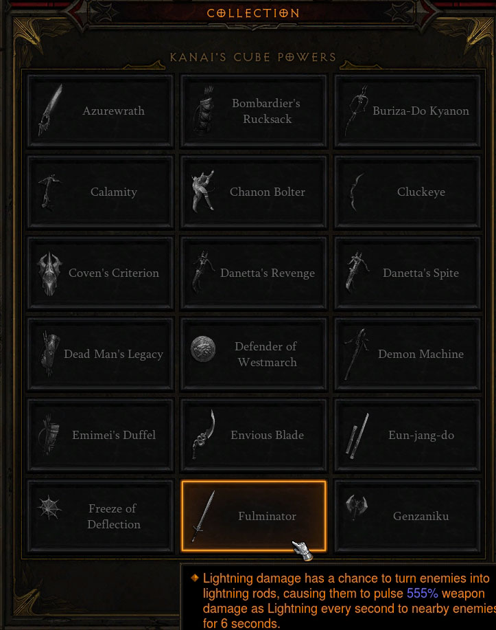 Cube Dh Weapons1 Diablo 3 News Forums
