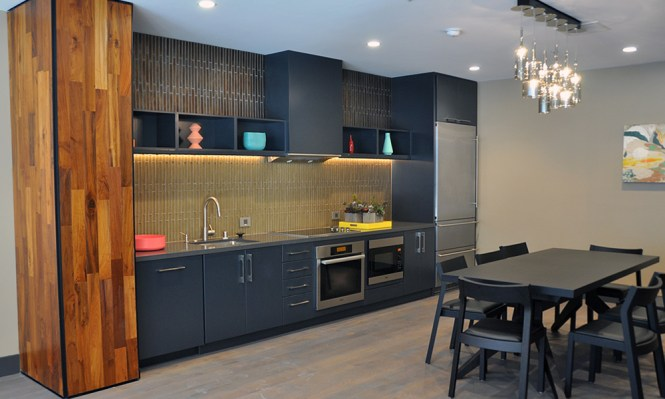 High Rise Apartment Kitchen Remodel