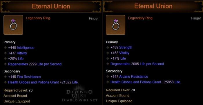 Eternal Union Diablo Wiki