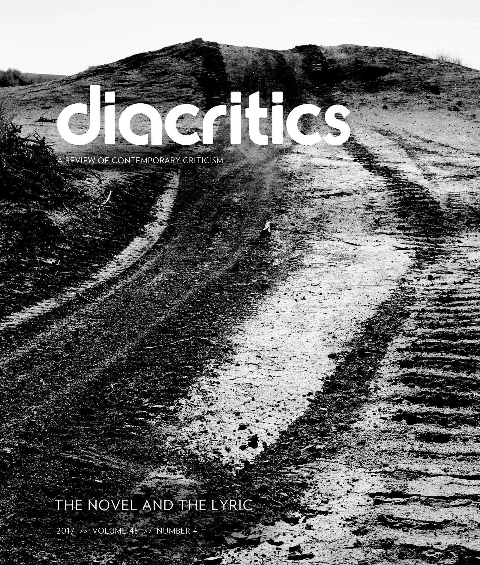 DIACRITICS VOLUME 45 NUMBER 4 2017
