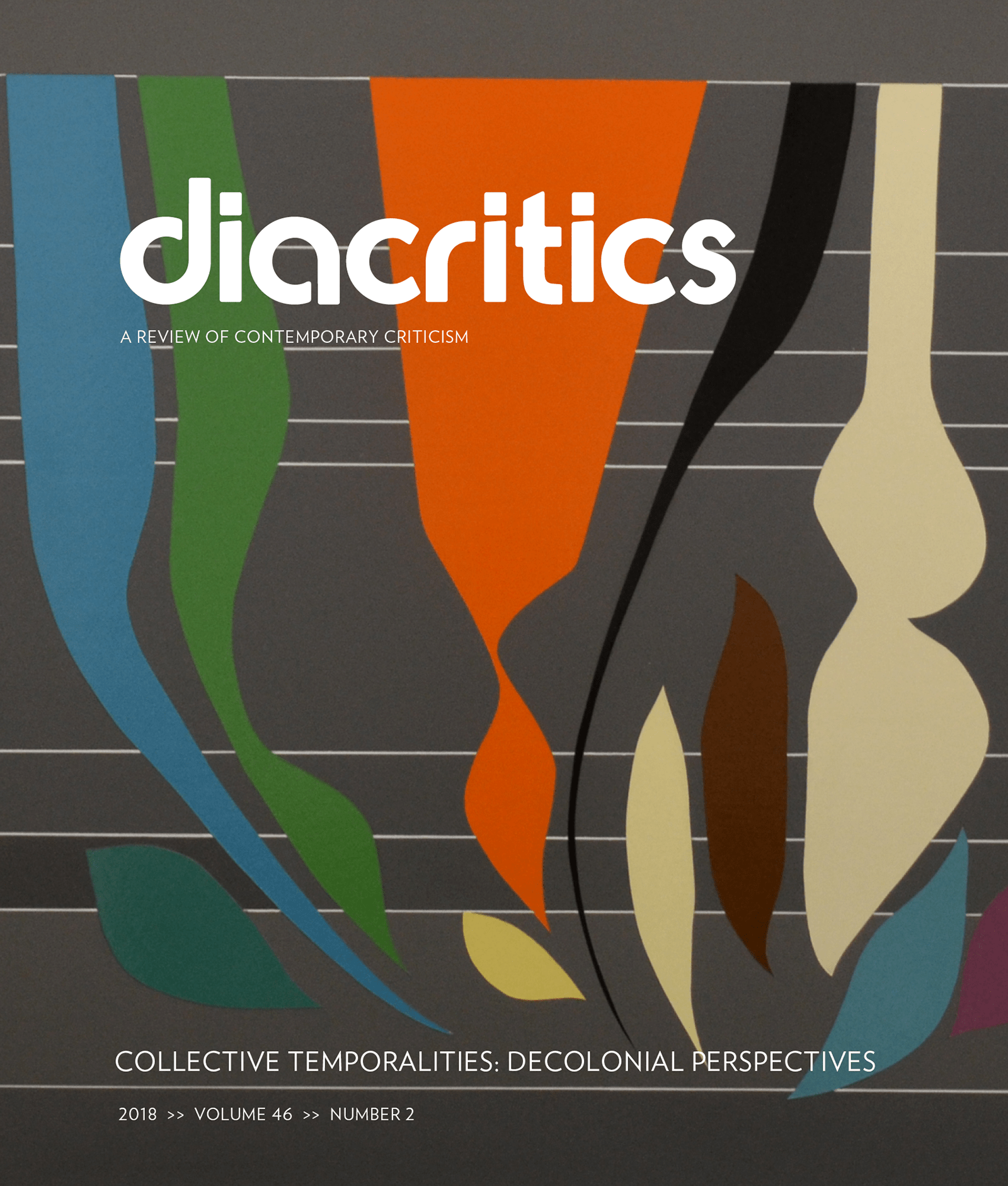 DIACRITICS VOLUME 46 NUMBER 2 2018