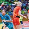 Ana Paula fez oito gols e foi o destaque da Seleção Brasileira contra a Romênia. Foto: Paulo Mumia/Rio2016