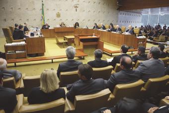 Com decisão do Supremo, crise  entre os poderes foi minimizada. Foto: Fellipe Sampaio/SCO/STF