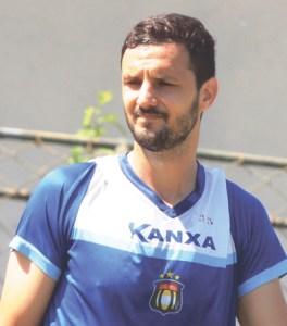 """Magrão: """"Agora é ganhar ritmo de jogo e ajudar o time"""". Foto: Fabricio Cortinove/AD São Caetano"""
