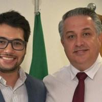 Zampronio é pré-candidato a deputado federal e Michels a estadual. Foto: Divulgação/Câmara de Diadema