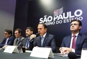 Doria faz balanço de cem dias de governo e anuncia que vai adiantar renovação de contratos de rodovias