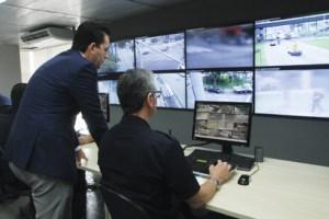 Santo André inaugura Centro de Operações Integradas com videomonitoramento em tempo real