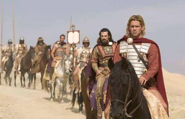 "Colin Farrell στον ρόλο του Μ. Αλεξάνδρου στην ταινία ""Alexander the Great"" (2004)"