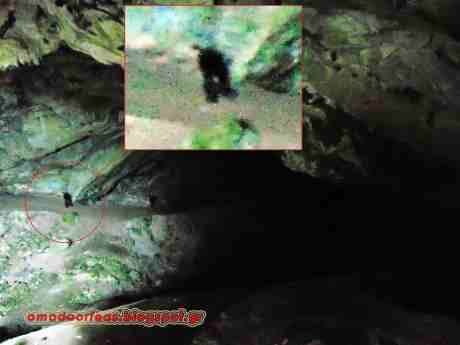 Καταγραφή Απόκοσμης Οντότητας στις Στοές του Λαυρίου και Σπήλαιο Νταβέλη