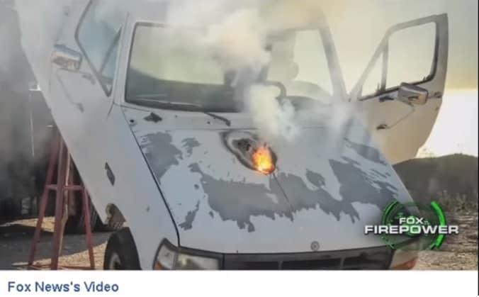 To LASER ATHENA ΥΠΑΡΧΕΙ και Μπορεί να Κάψει Αυτοκίνητο από Ένα Μίλι Μακριά (video)