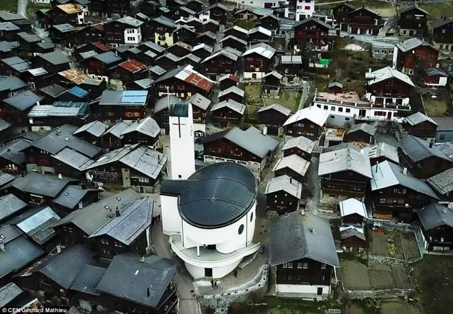 The Swiss town of Albinen has seen its population fall in recent years and now wants to reverse that trend