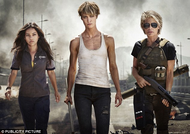 She's back! Linda, now 62, (right) has reprised her role for the sixth instalment of the film, despite her character being killed off in the third movie