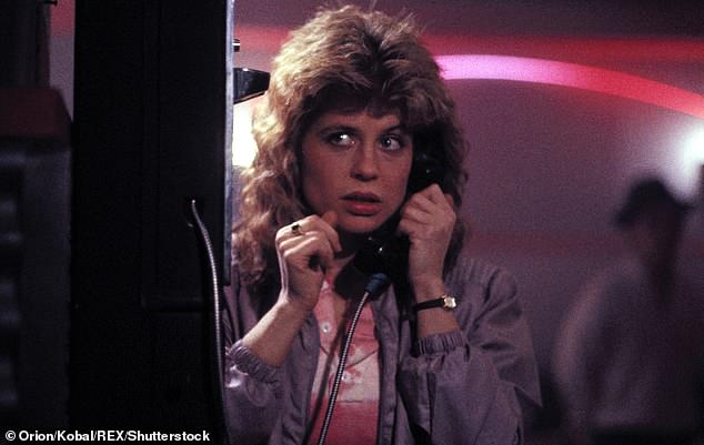 A step back in time: Linda as Sarah Connor in the 1984 original