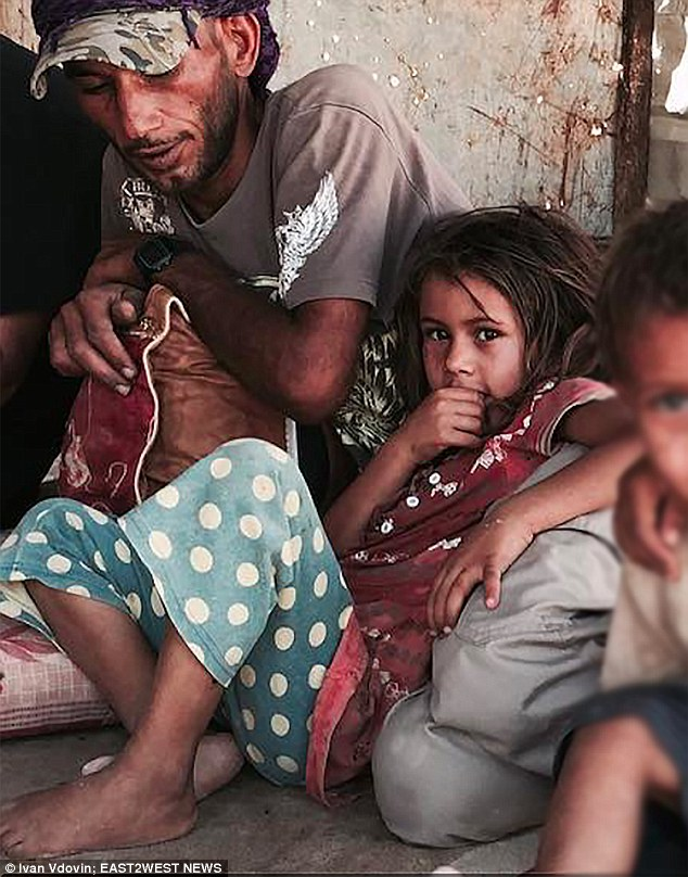 A Russian documentary-maker is seeking to save a young bedouin girl (pictured) from being sold as a wife for 50 sheep when she reaches the age of 11 or 12