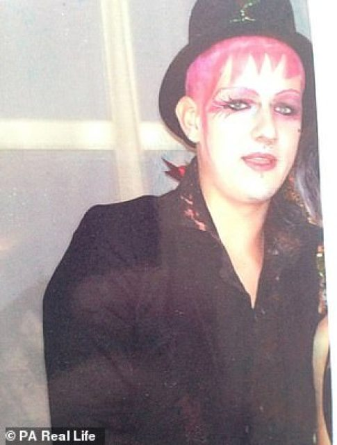 Growing up Dominic loved dressing in makeup like Boy George, but he said now everything down to his dress sense and mannerisms have completely changed