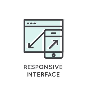 interfaccia responsive