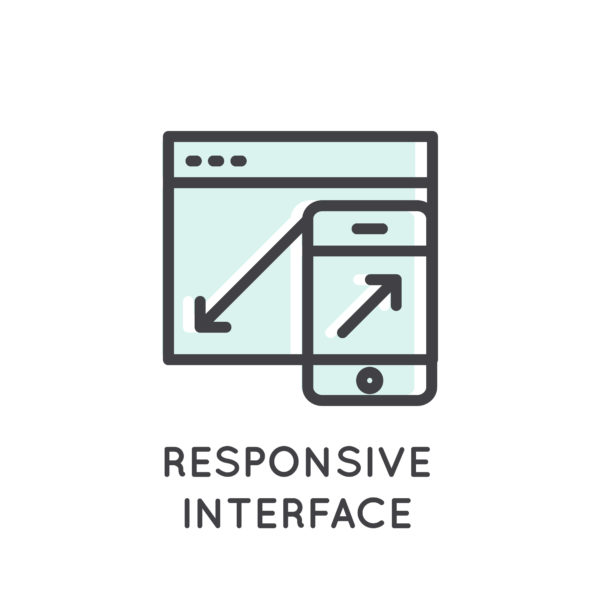 interfaccia responsive