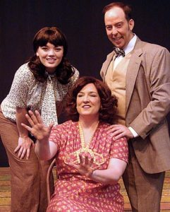 Etchison, Webster and Ross play leading rolls in 'Gypsy.' (Photo used by permission of CCP)