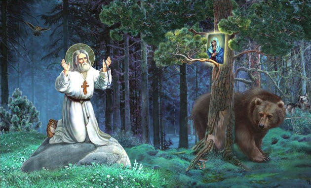 Αποτέλεσμα εικόνας για Οσ Σεραφειμ του Σαρωφ