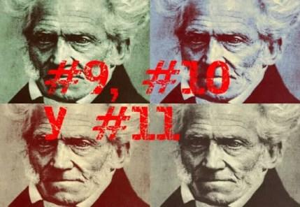 El arte de ser feliz por Schopenhauer (Reglas #9, #10 y #11)