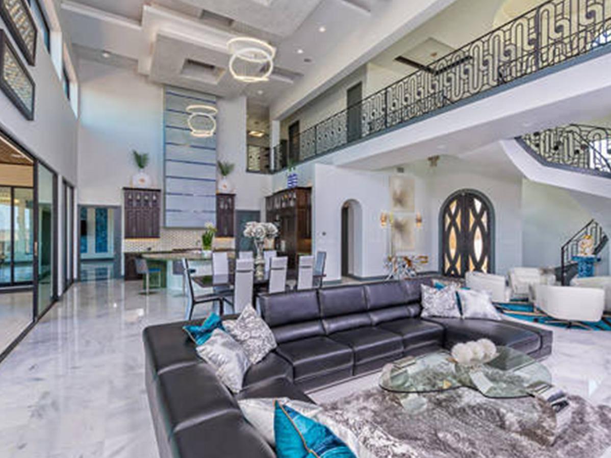 Italian Contemporary Diamante Custom Homes