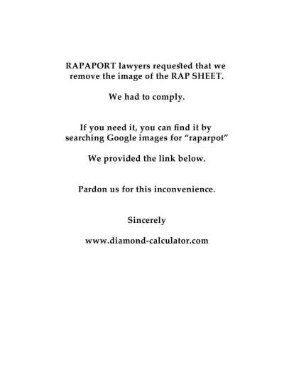 Rapaport Price List 8-17-12 page 1