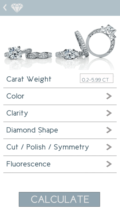 Diamond Calculator App