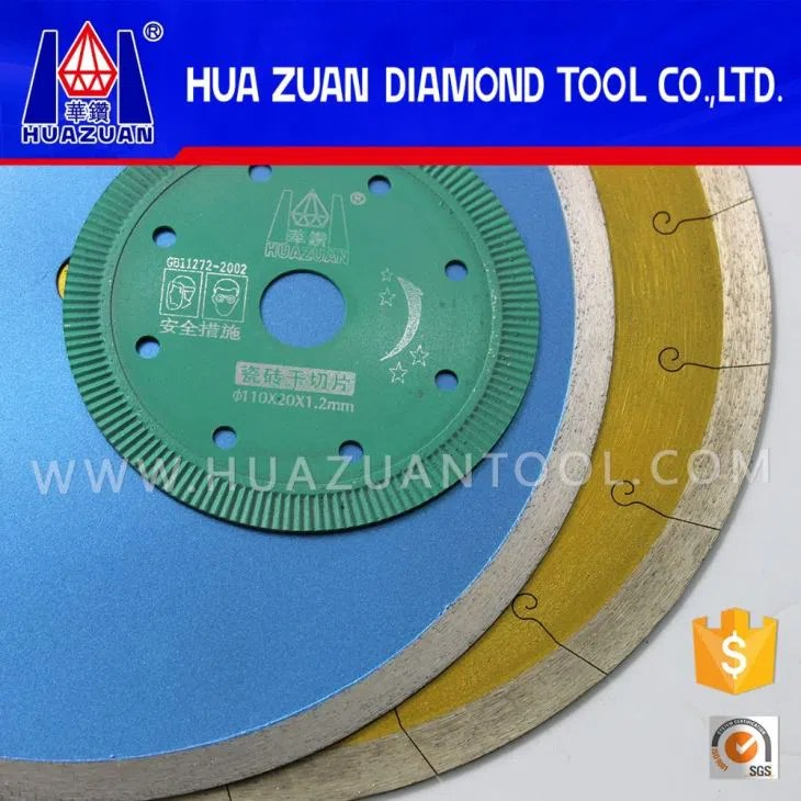ceramic tile circular cutters cut off saw blade sizes tile blade for circular saw manufacturers and suppliers china factory price huazuan diamond tools