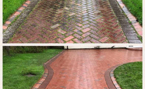 Block Paving Driveway Cleaning