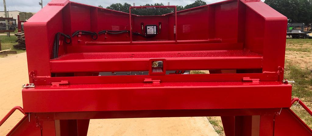 gooseneck trailer storage storage