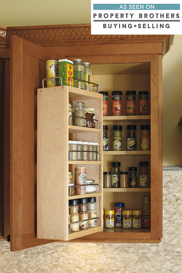 Wall Spice Rack Cabinet Diamond Cabinetry