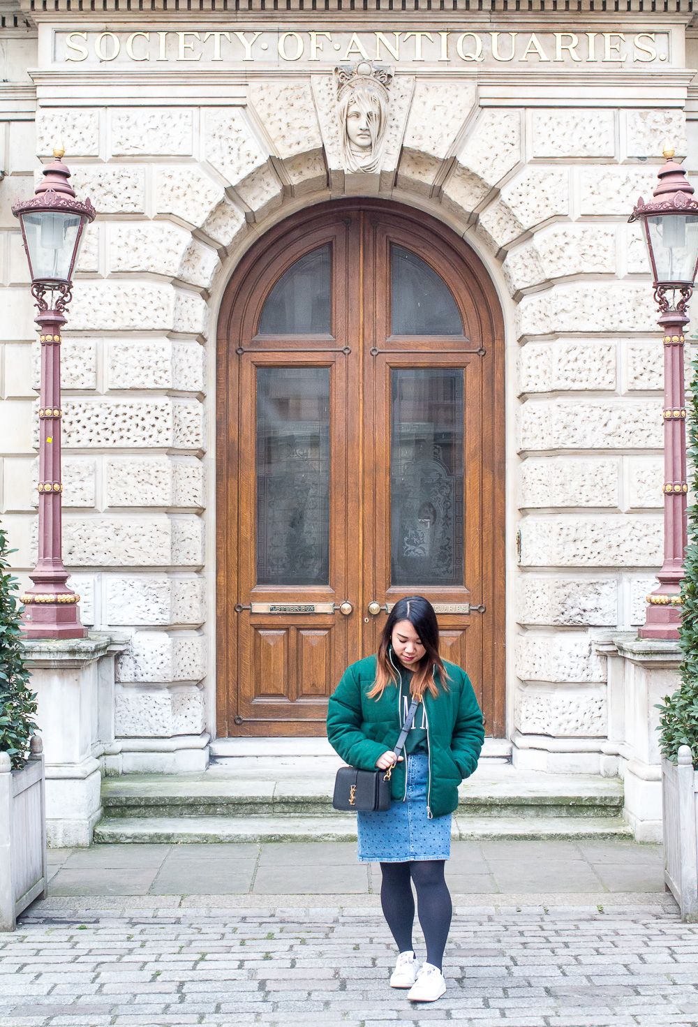 Royal Academy Antiquities outfit