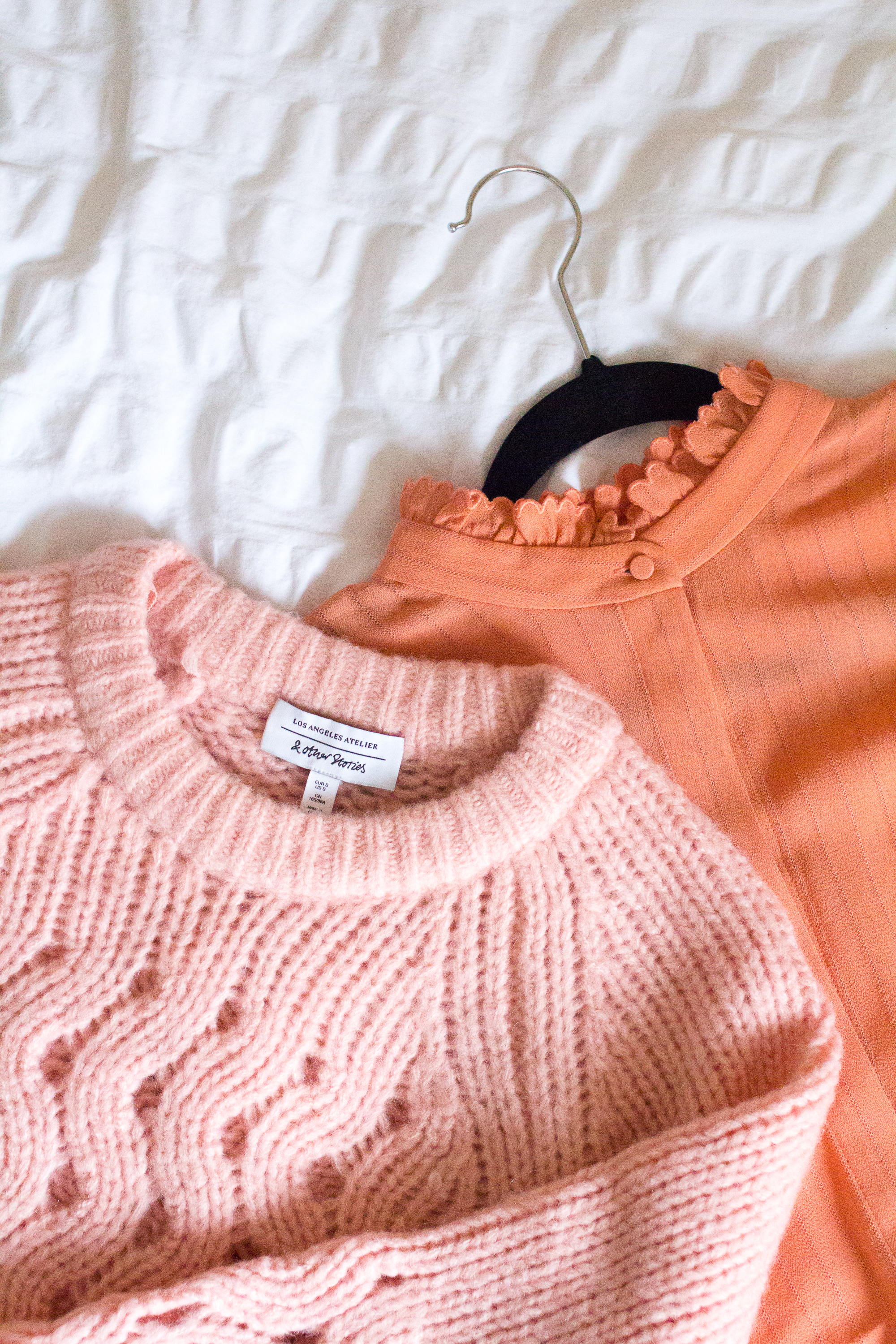 &otherstories knitwear and blouse 1