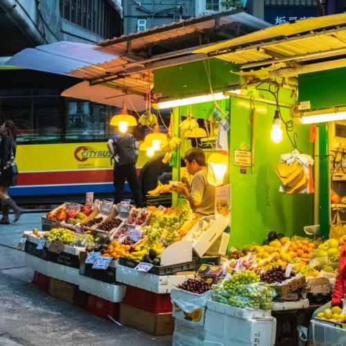 HK Fruitstall, Gage St
