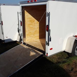 5x8 Enclosed Trailer