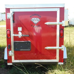 4x6 Enclosed Trailer