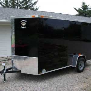 6x14 Enclosed Trailer