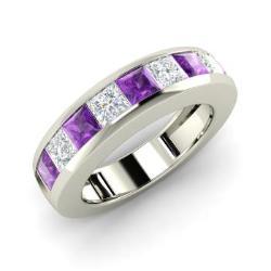 Amethyst Mens Jewelry February Birthstone Mens Jewelry