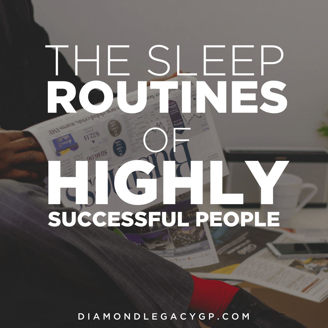 The Sleep Routines of Highly Successful People