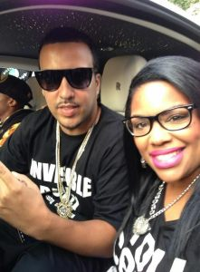 Hip Hop Star French Montana and Danielle Ellis of Ruly magazine