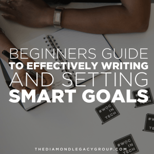 Beginners Guide to Effectively Writing and Setting Smart Goals