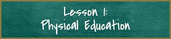 Lesson 1: Physical Education | Diamond Pet Foods