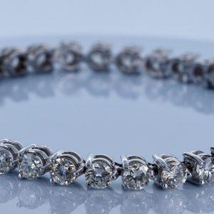 9 Carat Diamond Bracelet