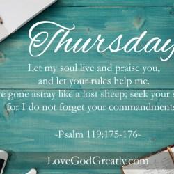 Psalm 119 W8D4